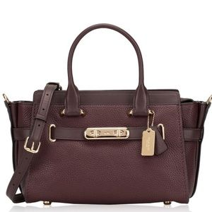 Coach Blake Burgundy bag